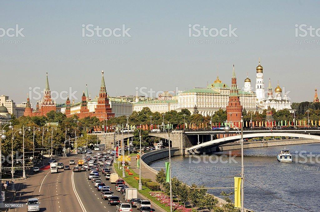 Der Moskauer Kreml Lizenzfreies stock-foto