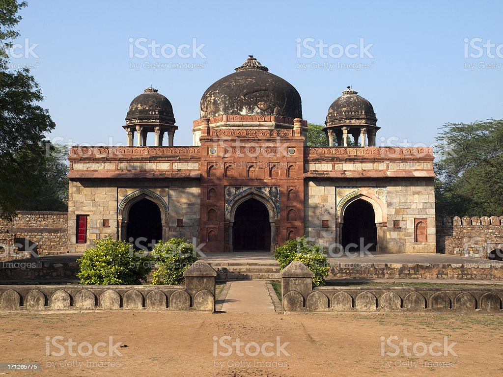 'The Mosque Of Isa Khan, Delhi' stock photo
