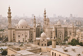 The Mosque of Sultan Hassan in Cairo, Egypt Africa