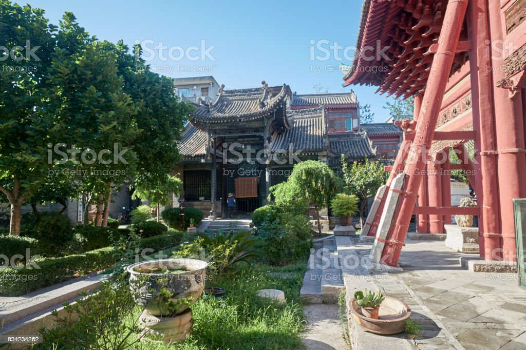 The mosque of Xi'An stock photo