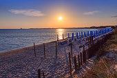 The most beautiful sandy beaches of Apulia:Porto Cesareo (Lecce).ITALY (Salento)