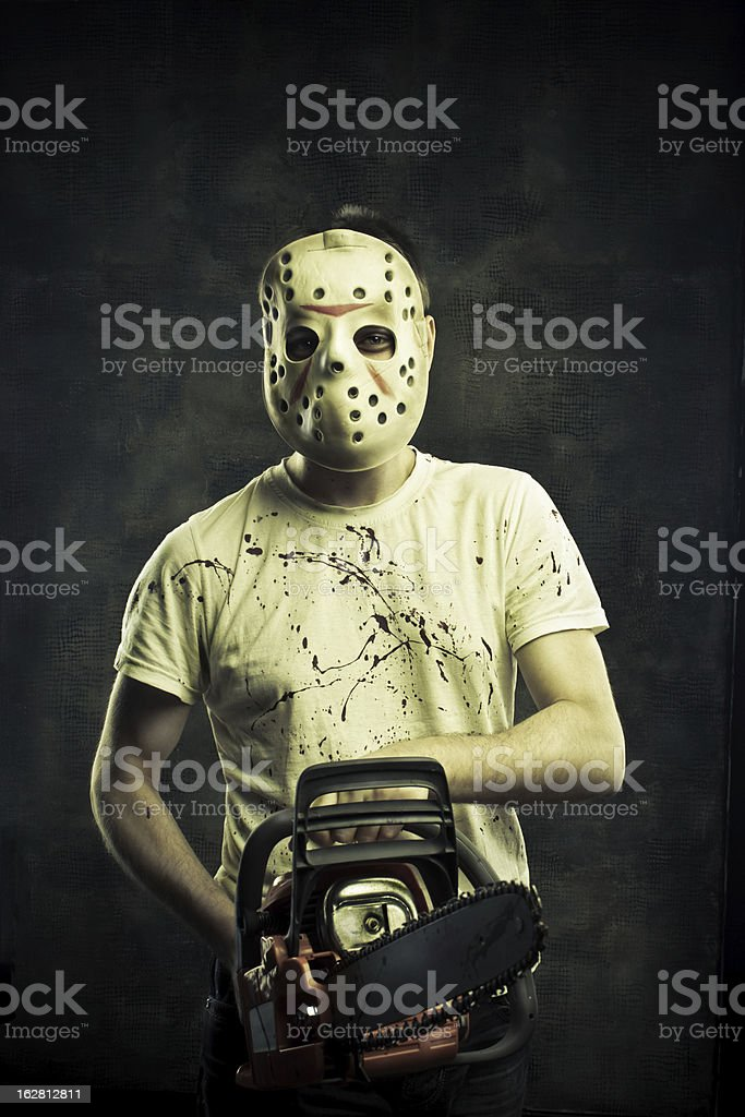 The most horrible nightmare royalty-free stock photo