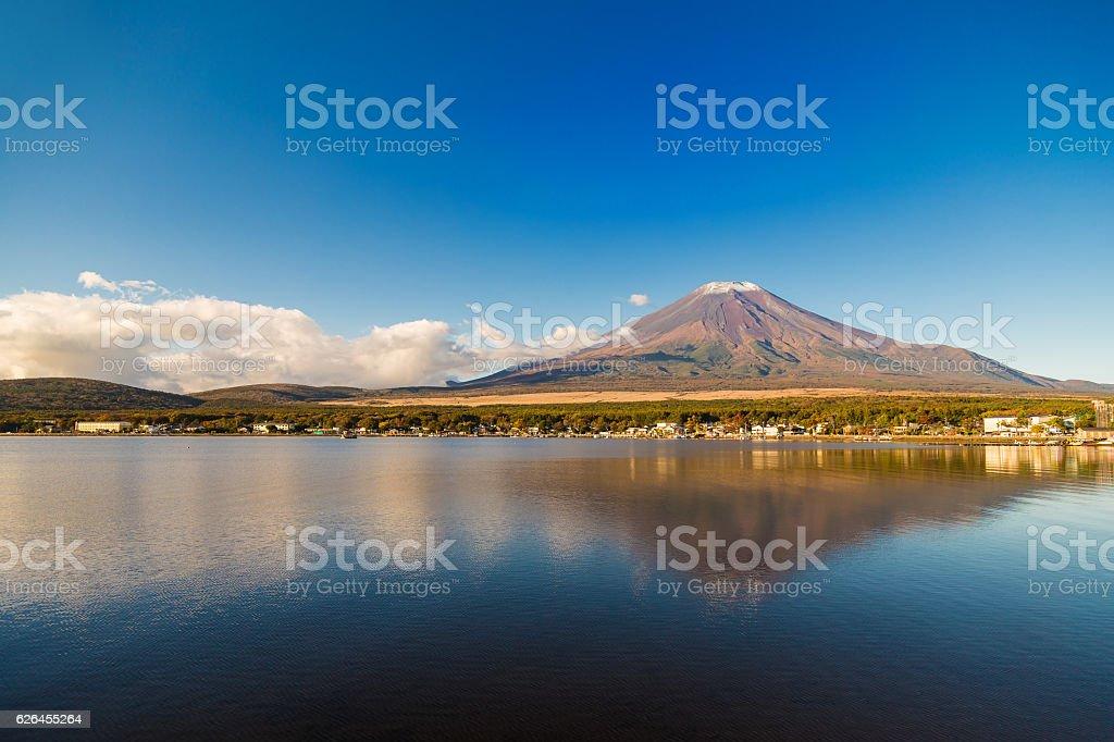 The Mount Fuji stock photo