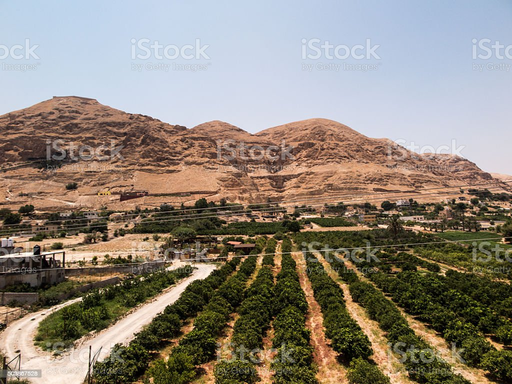 The Mount of Temptations stock photo