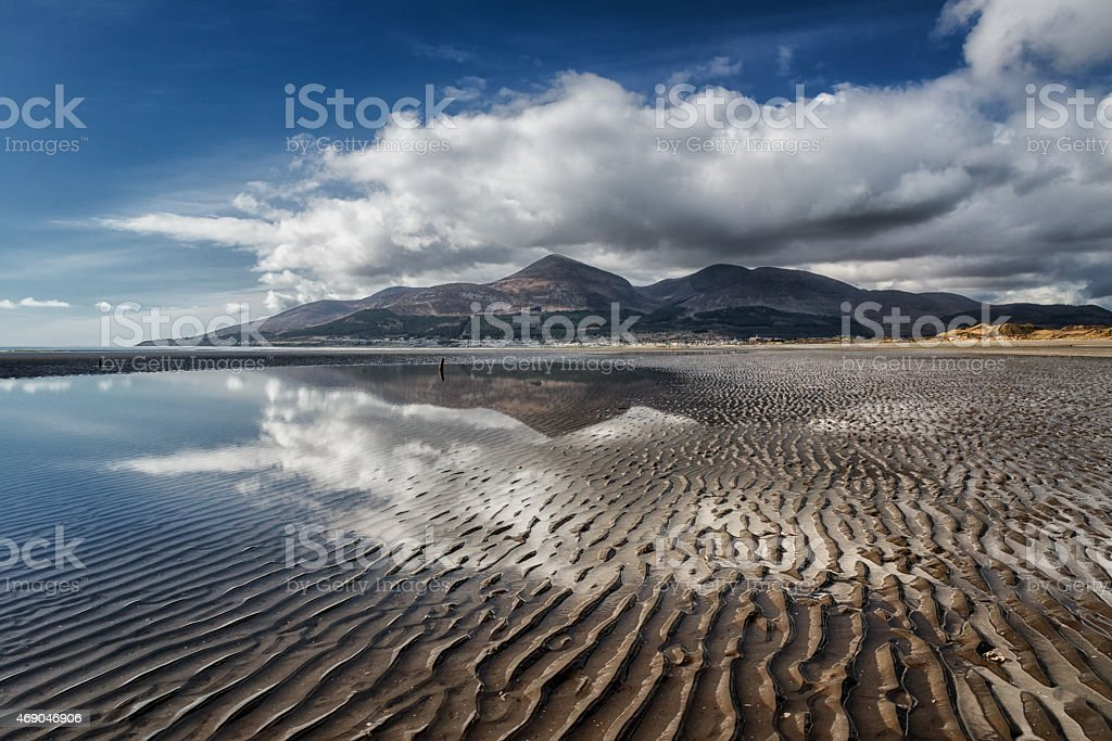 The Mourne Mountains stock photo