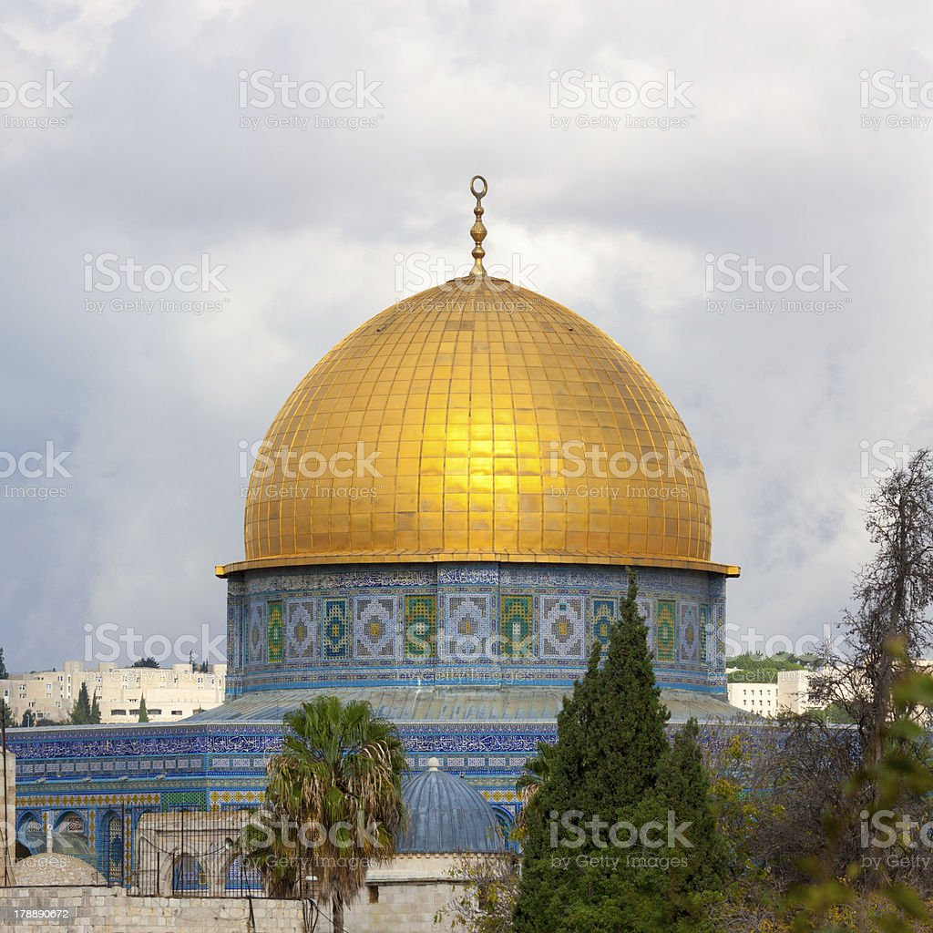 The mousque of Al-aqsa, Jerusalem royalty-free stock photo