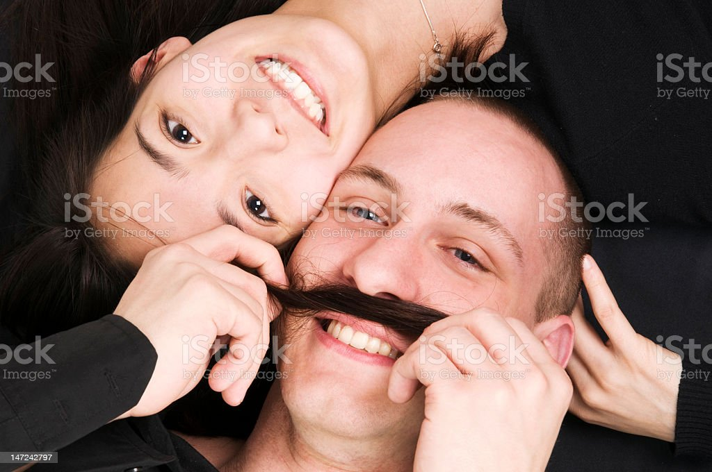 the moustache royalty-free stock photo