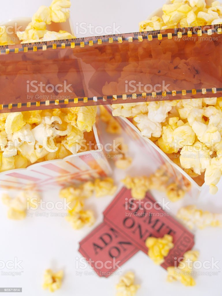 The Movies 3 royalty-free stock photo