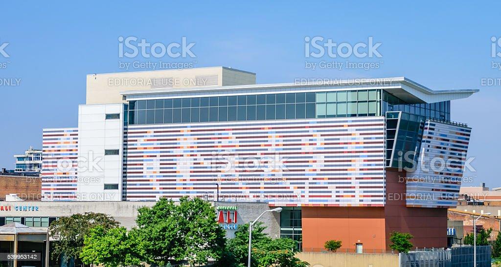 The Muhammad Ali Center stock photo