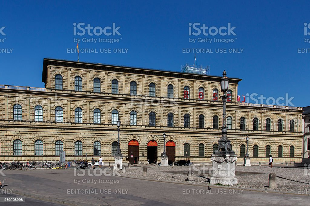 The Munich Residenz, Germany, 2015 stock photo