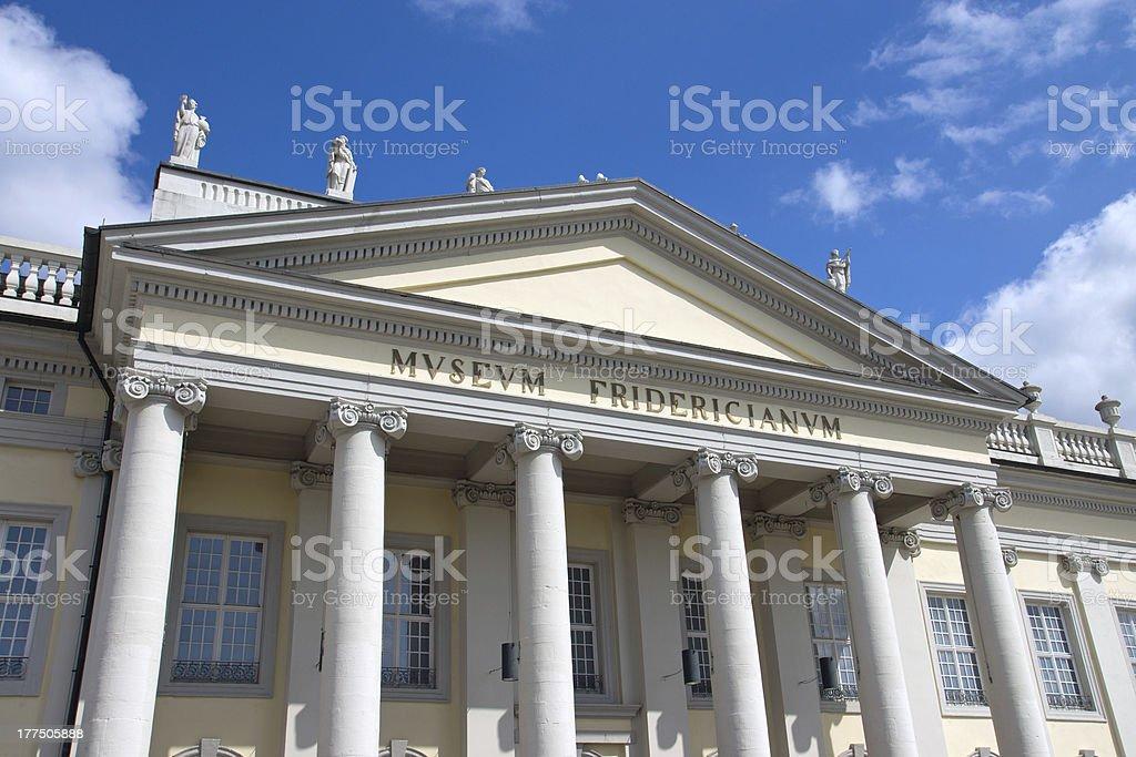 The Museum Fridericianum in Kassel stock photo