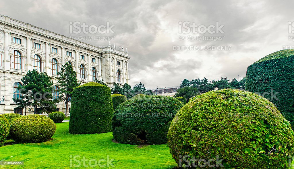The Museum of Art History stock photo