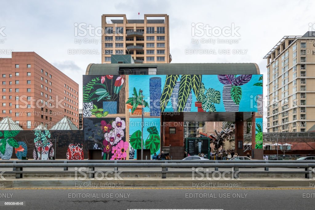 The Museum of Contemporary Art - Los Angeles, California, USA stock photo