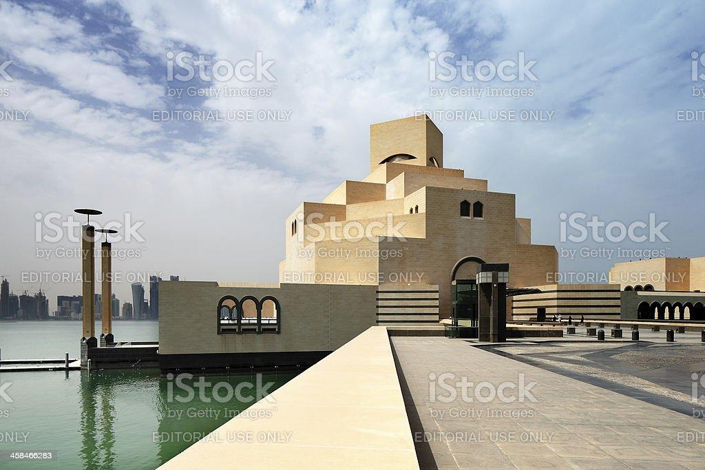 The Museum of Islamic Art in Doha, Qatar royalty-free stock photo