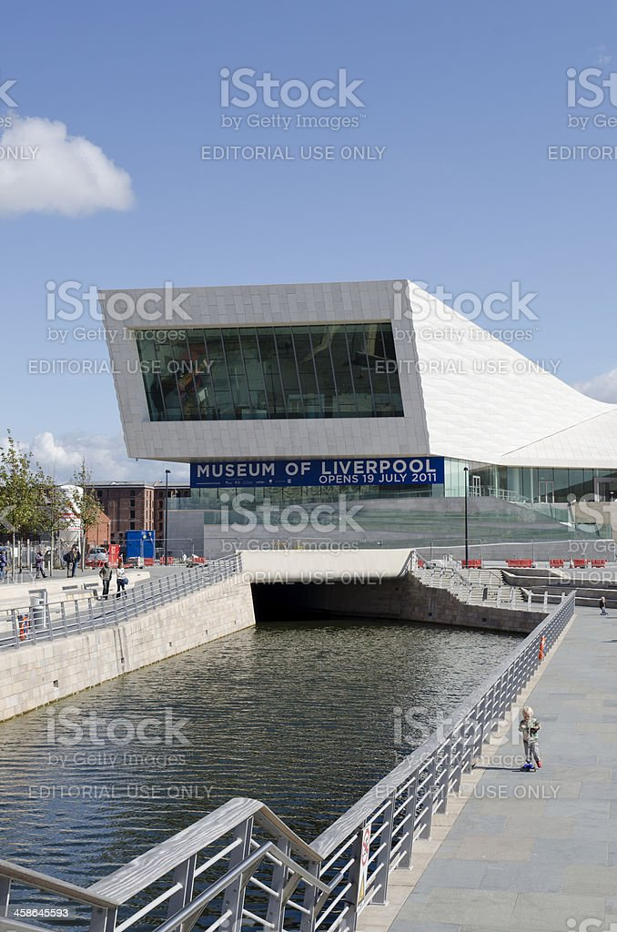 The Museum of Liverpool, Mann Island, Pier Head stock photo