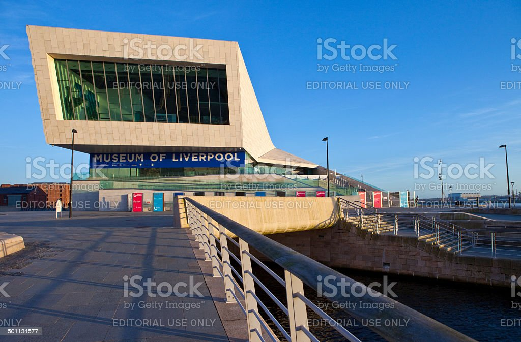 The Museum of Liverpool stock photo