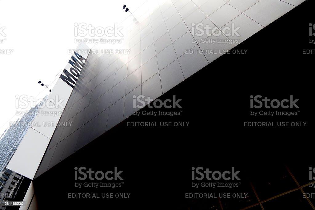 The Museum of Modern Art stock photo
