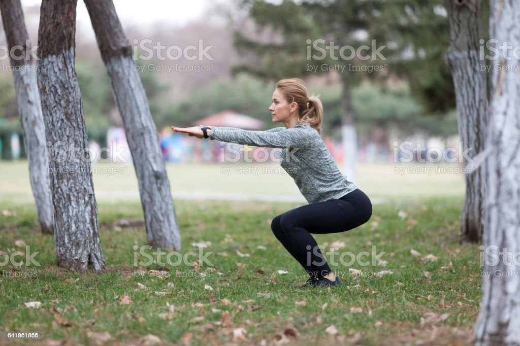 The music of your soul is fitness stock photo