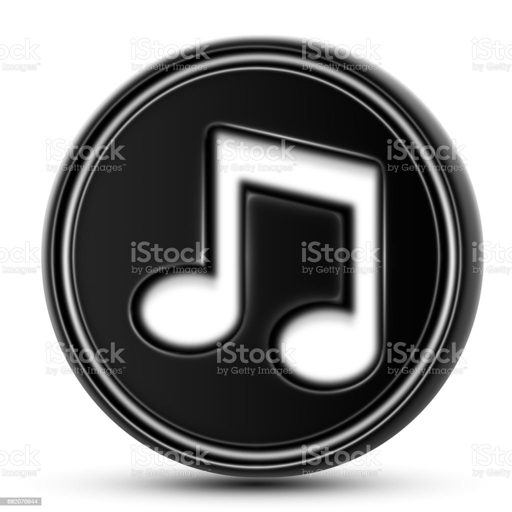 The Musical Note stock photo