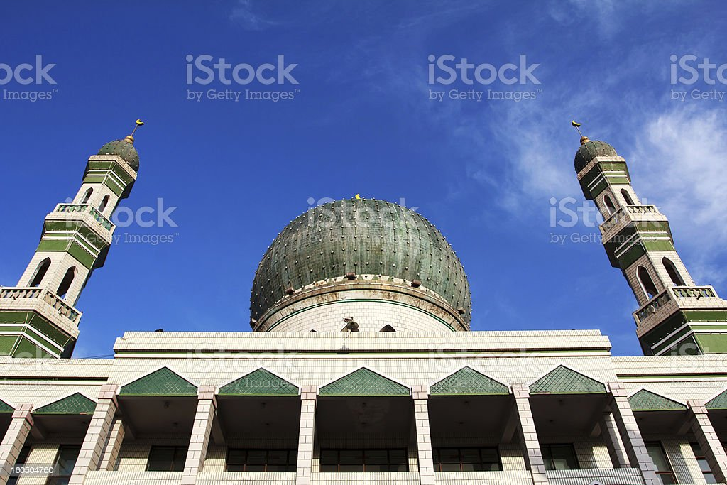 the Muslim mosque stock photo