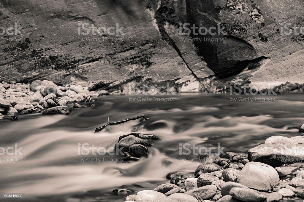 The Narrows stock photo