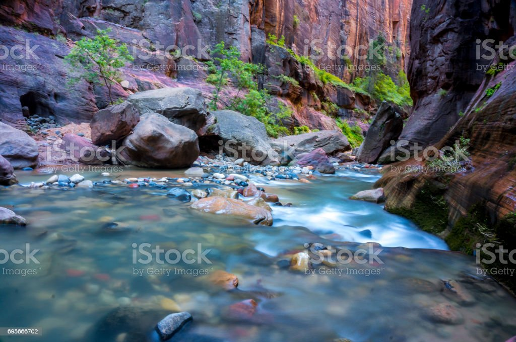 The Narrows stock photo