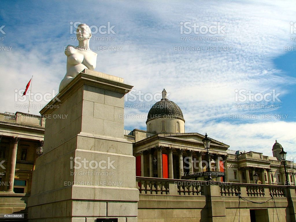 The National Gallery, London stock photo