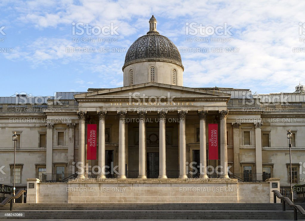 The National Gallery royalty-free stock photo
