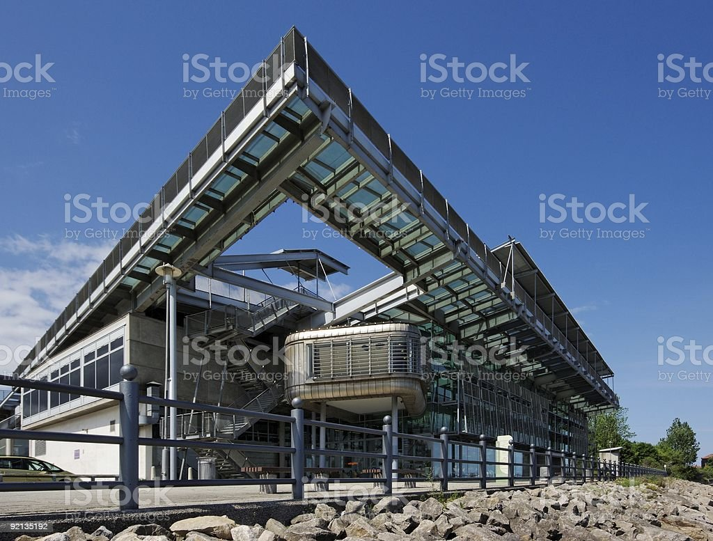 The National Glass Centre in Sunderland stock photo