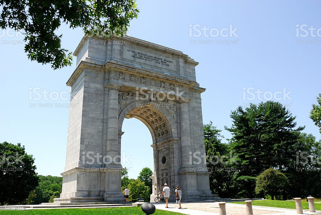 The National Memorial Arch stock photo