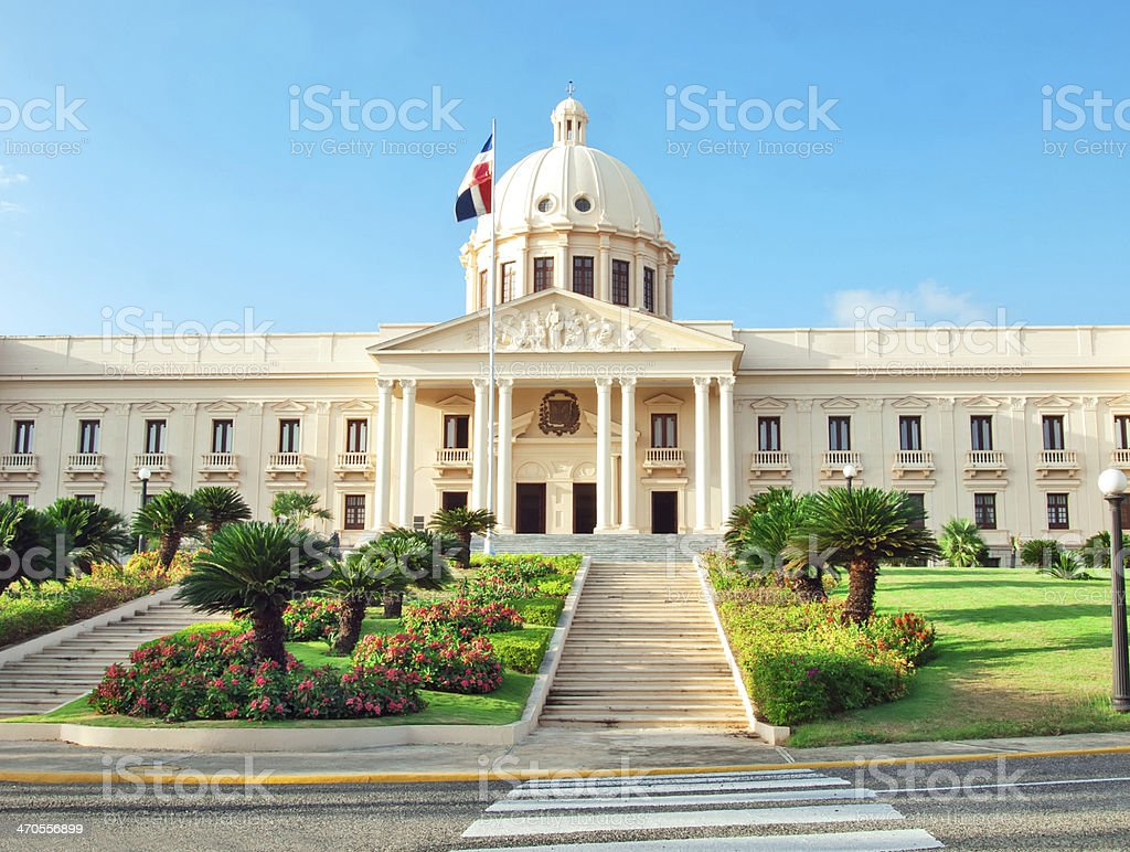 The National Palace in Santo Domingo, Dominican Republic. royalty-free stock photo