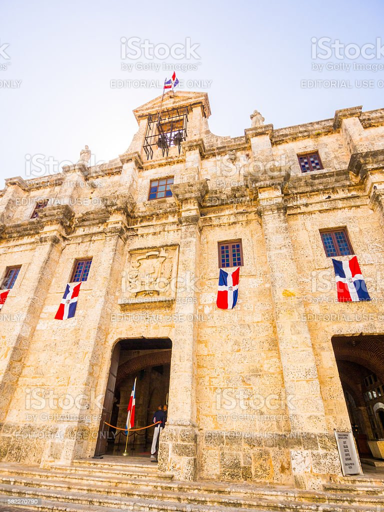 The National Pantheon in Santo Domingo, Dominican Republic stock photo