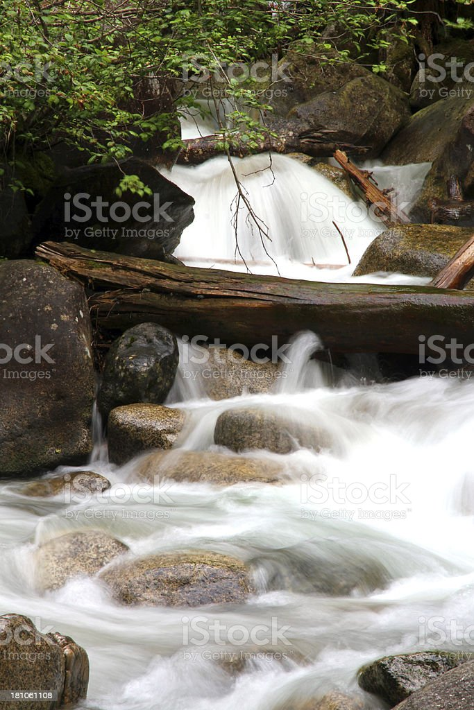 The Natural Flow royalty-free stock photo