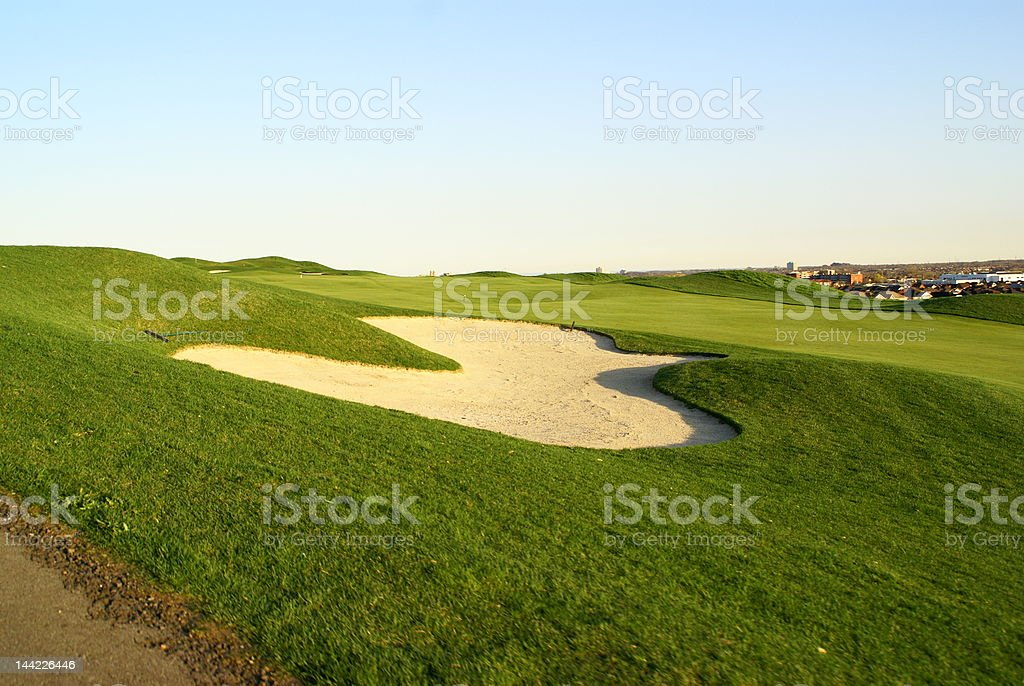 the nature of golf royalty-free stock photo