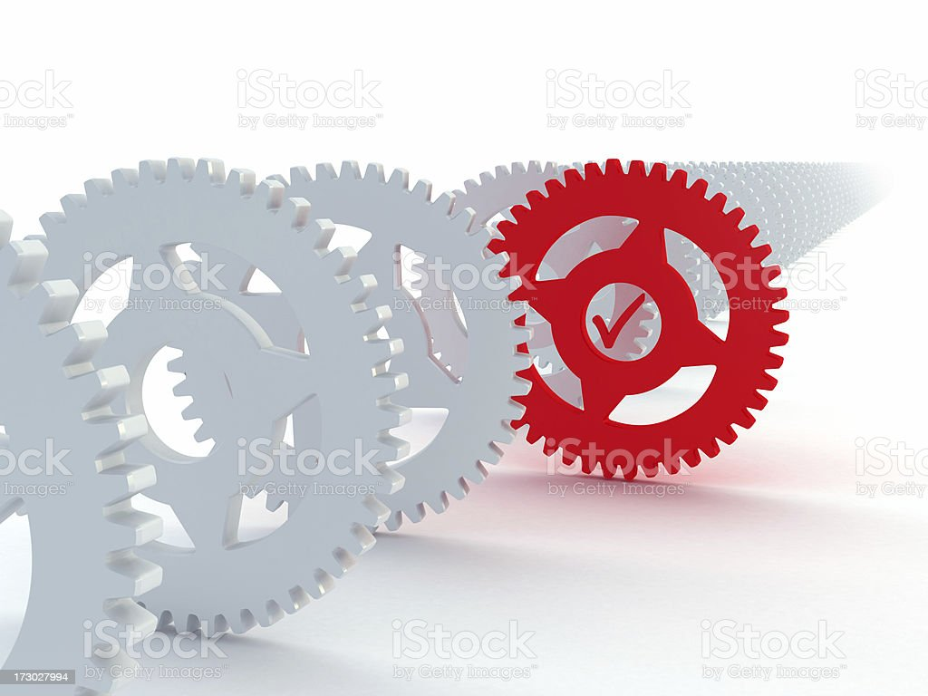 The needed machine part royalty-free stock photo