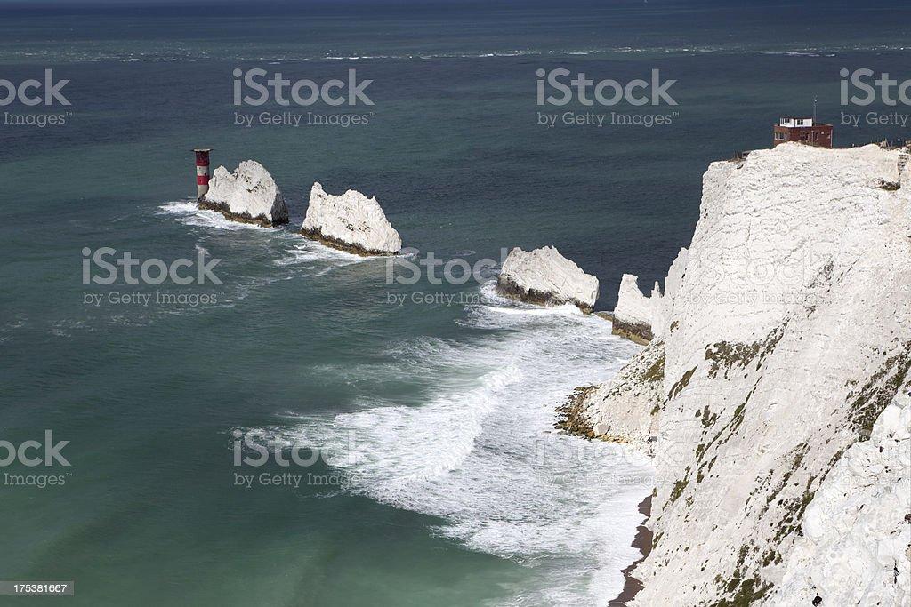 The Needles, Isle of White (XXXL) stock photo