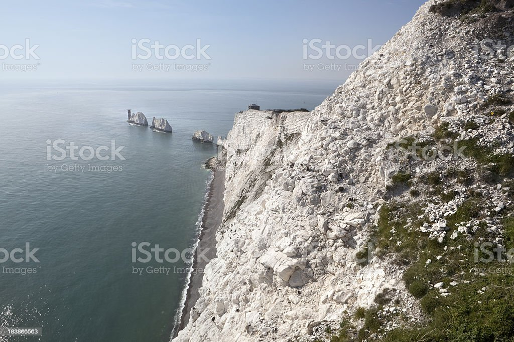 The Needles, Isle of White, UK (XXXL) stock photo