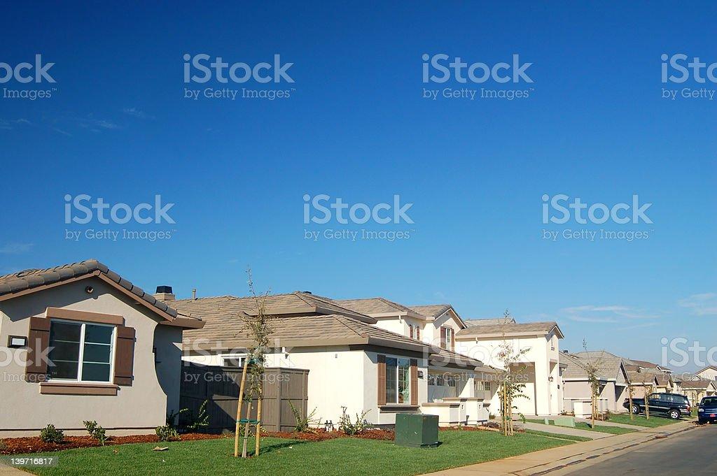 The Neighborhood stock photo