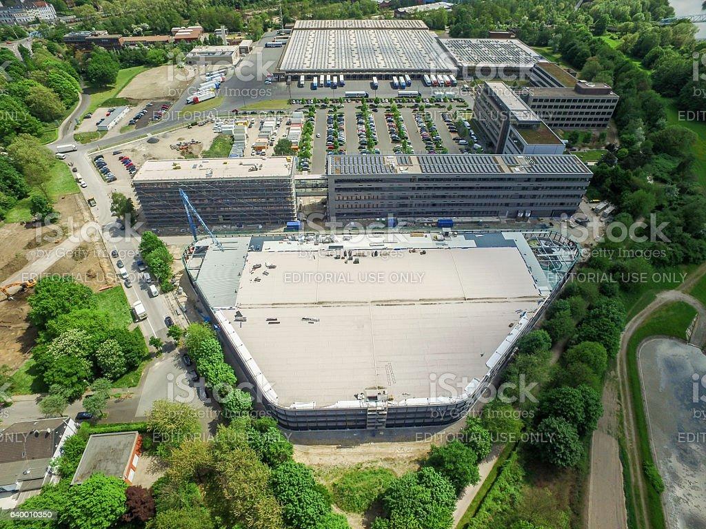 The new Aldi headquarter stock photo