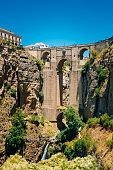 The New Bridge (Puente Nuevo) in Ronda, Province Malaga, Spain