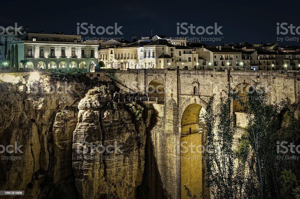The New Bridge Rondab stock photo