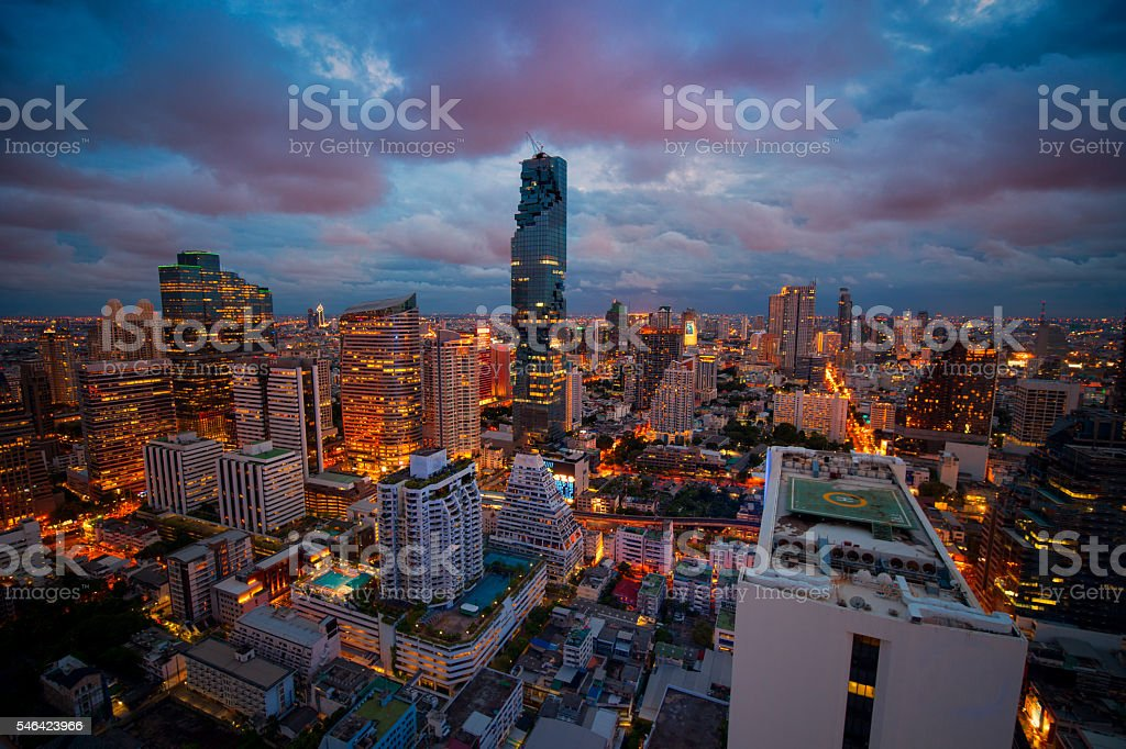 The new highest building in Bangkok. ,Thailand stock photo