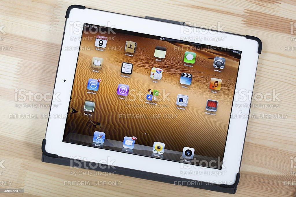 The New iPad, 3rd Generation 2012 royalty-free stock photo