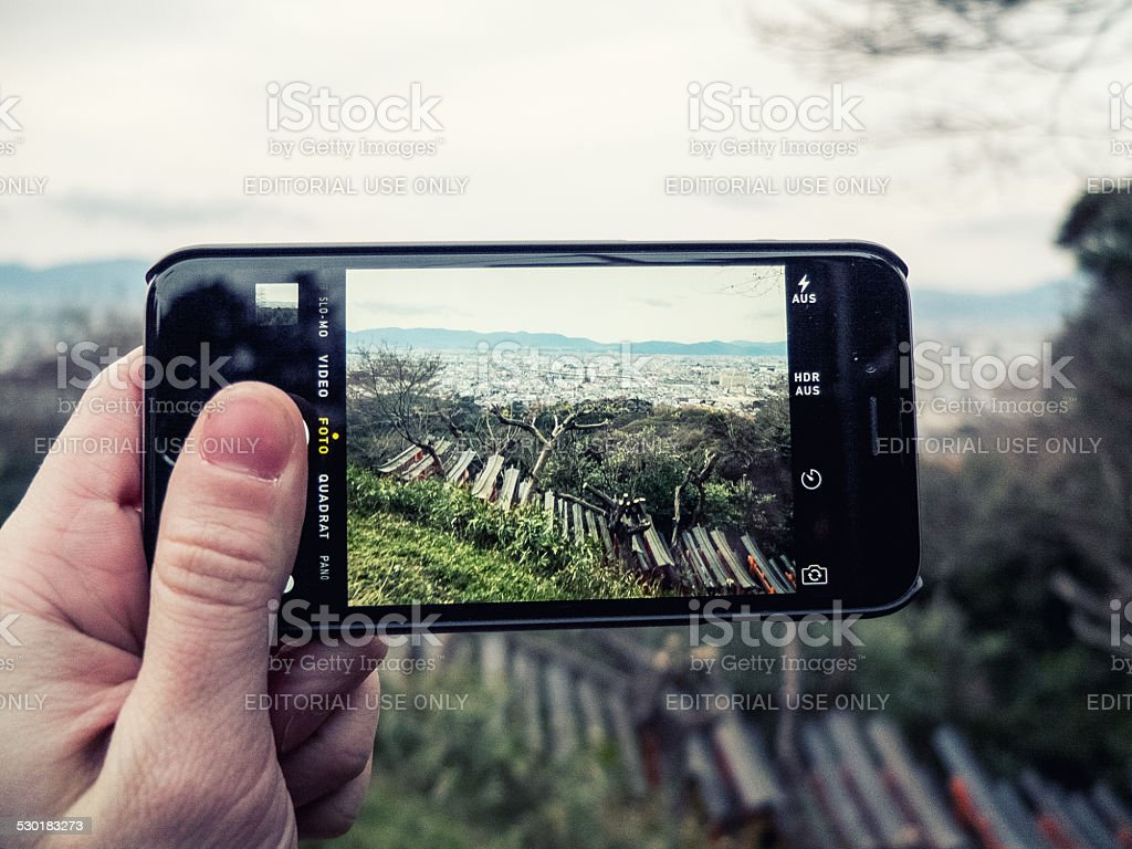 The new iPhone 6 at Kytot in Japan stock photo