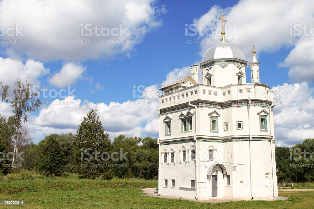 The new Jerusalem monastery. The skete of Patriarch Nikon stock photo