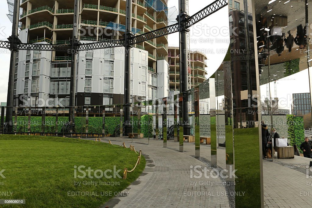 The New Kings Cross stock photo