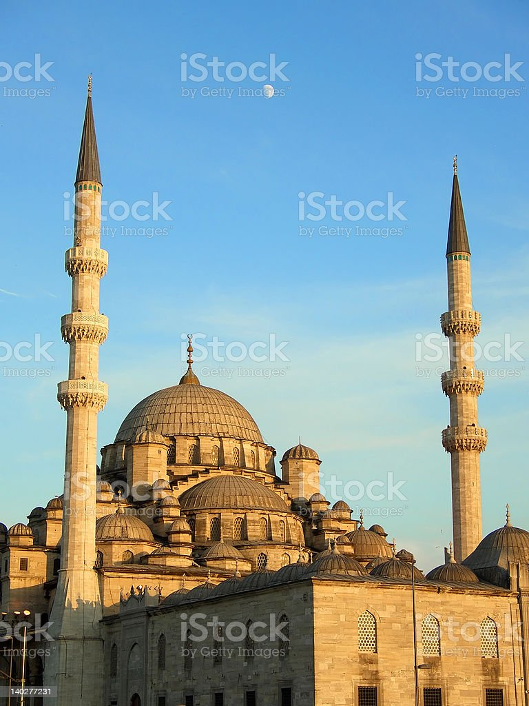 The New Mosque in Istanbul stock photo