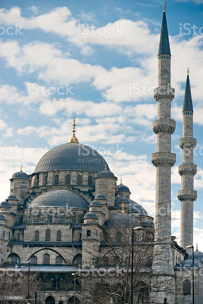 Die neue (Yeni-Moschee, Istanbul, Türkei. – Foto