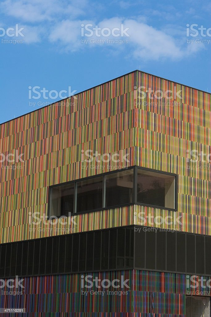 The new Museum Brandhorst in Munich stock photo