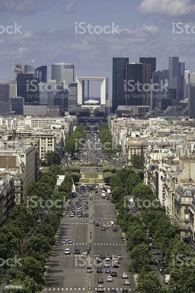 the New Paris royalty-free stock photo